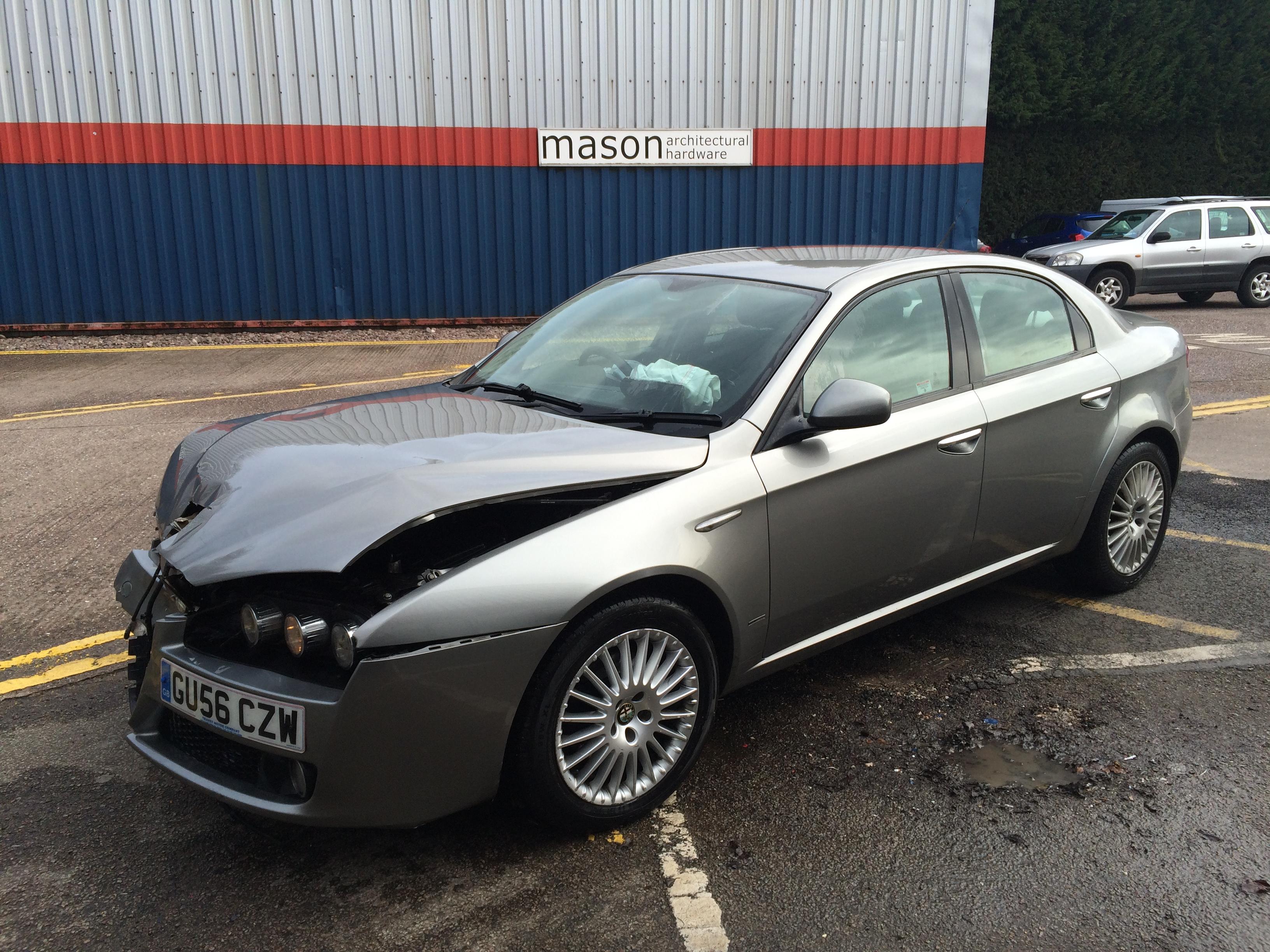 Alfa romeo gt 3 2 v6 breaking for spares italia auto parts - 159 1 9 Jtdm Saloon Grey Italia Auto Parts