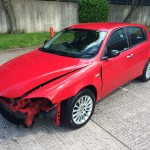 alfa 147 1.6 Faclift breaking