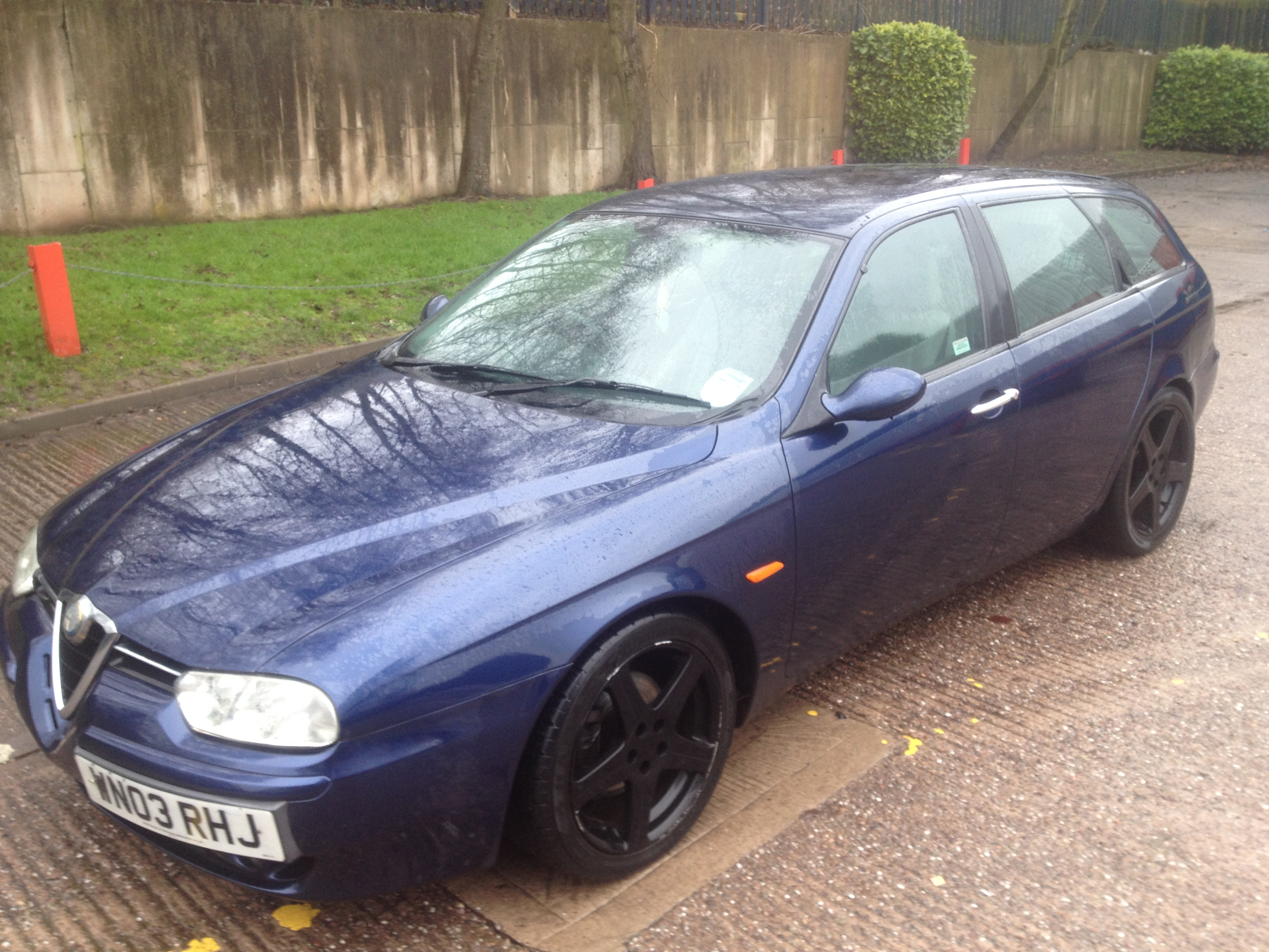 alfa romeo 156 sportwagon 2 4 jtd breaking for spares italia auto parts. Black Bedroom Furniture Sets. Home Design Ideas