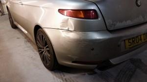 Alfa gt accident damage